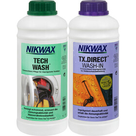 Nikwax Tech Wash + TX.Direct Wash-In 2 x 1 l